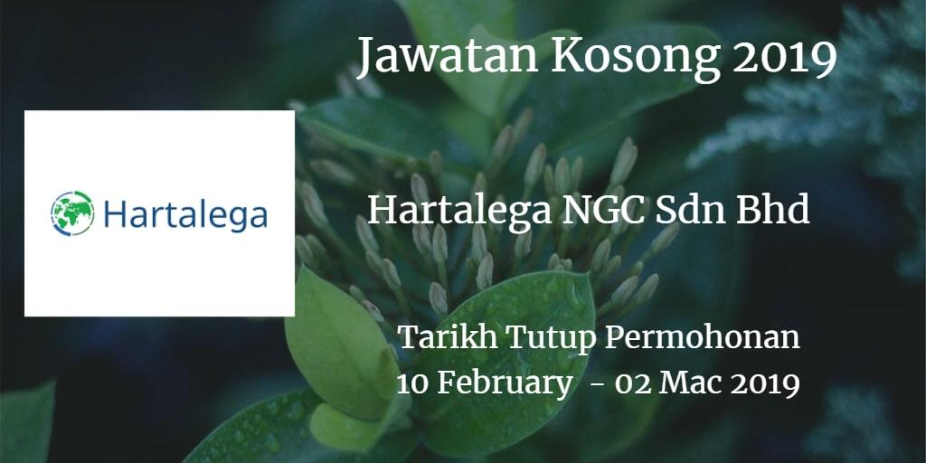 Jawatan Kosong Hartalega NGC Sdn Bhd 10 February - 2 Mac 2019