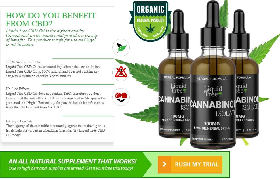 Liquid Tree CBD Oil Best Review in 2017 | SupplementsVerdict