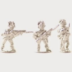 AWB22 British light infantry, crested helm, skirmish.
