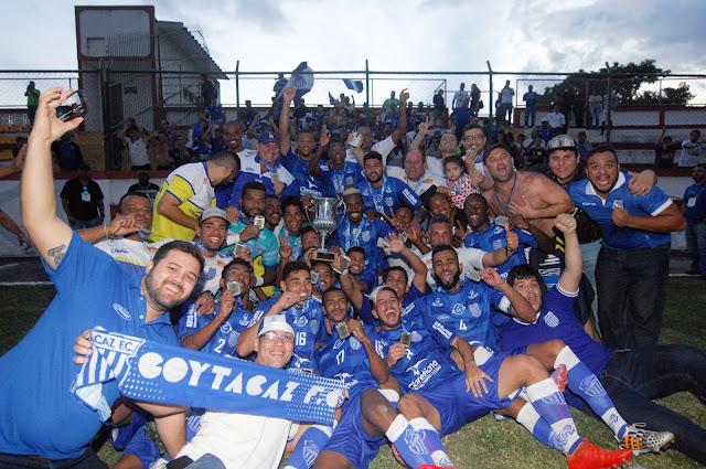 Esporte Rio: Goytacaz FC Campeão da Taça Santos Dumont de 2017