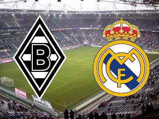 مباراة ريال مدريد الإسباني وبوروسيا مونشنغلادباخ الألماني دروري أبطال أوروبا 2020
