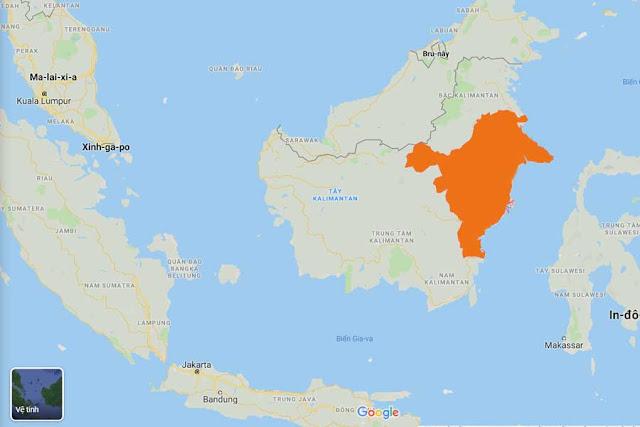 Khu vực dậy sóng bất động sản, dự kiến là thủ đô mới của Indonesia