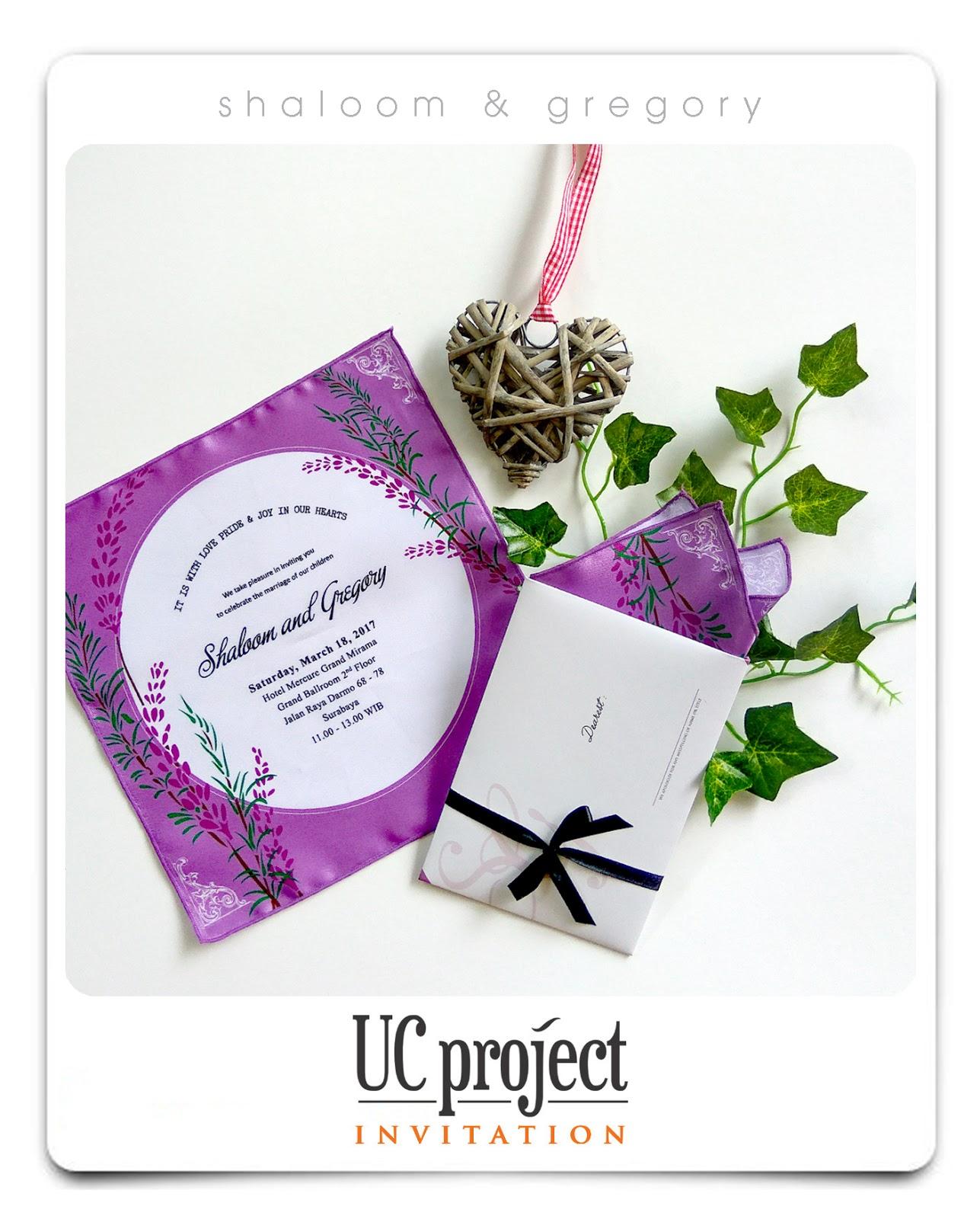 UC PROJECT ~ Wedding Invitation
