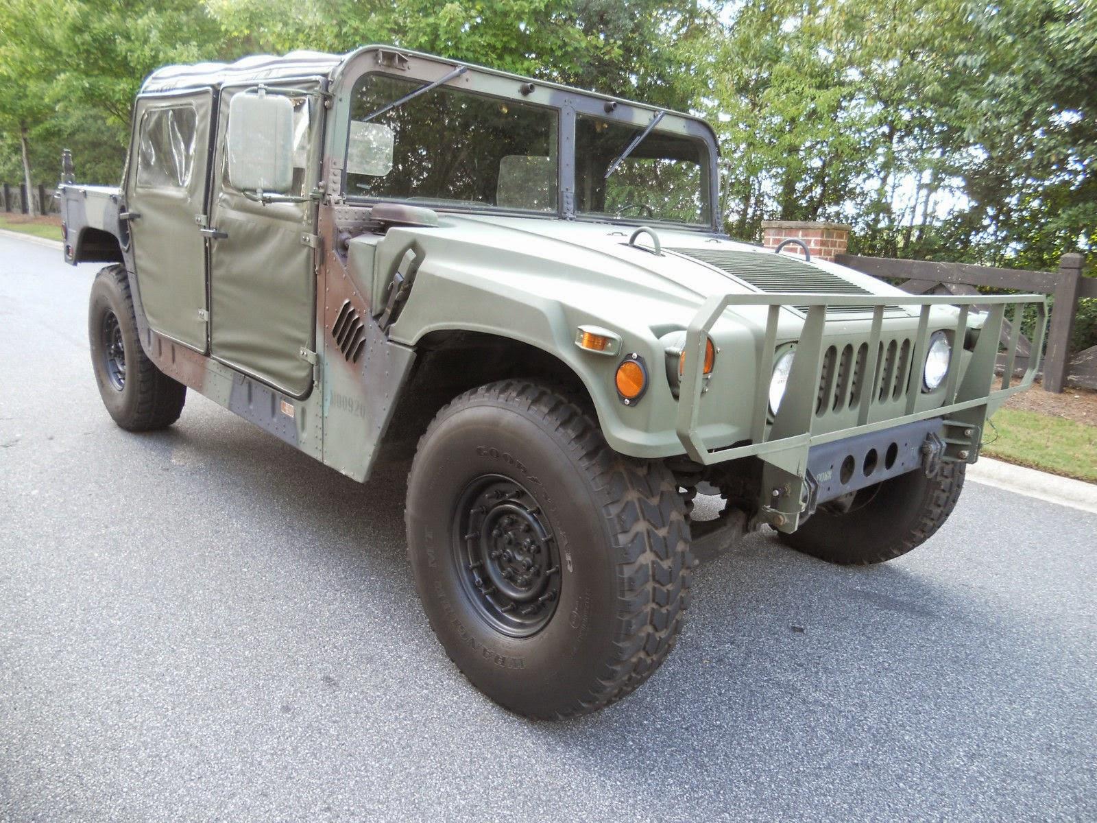 1985 m998 military humvee for sale 4x4 cars. Black Bedroom Furniture Sets. Home Design Ideas