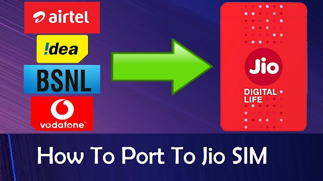 I Want To Port In My Number to Jio