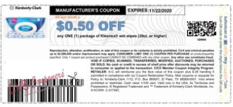 klneenex coupon