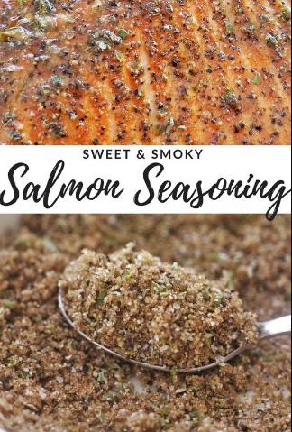 SWEET & SMOKY SALMON SEASONING