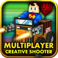 Blocky Cars – Online Shooting Game Mod Apk
