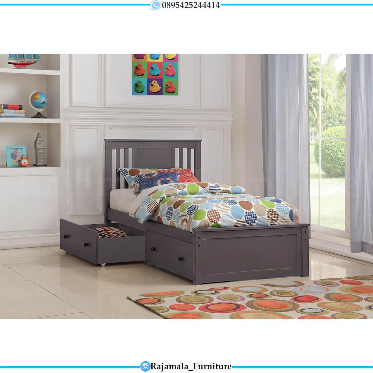 Tempat Tidur Minimalis Anak Modern Design Furniture Jepara RM-0635