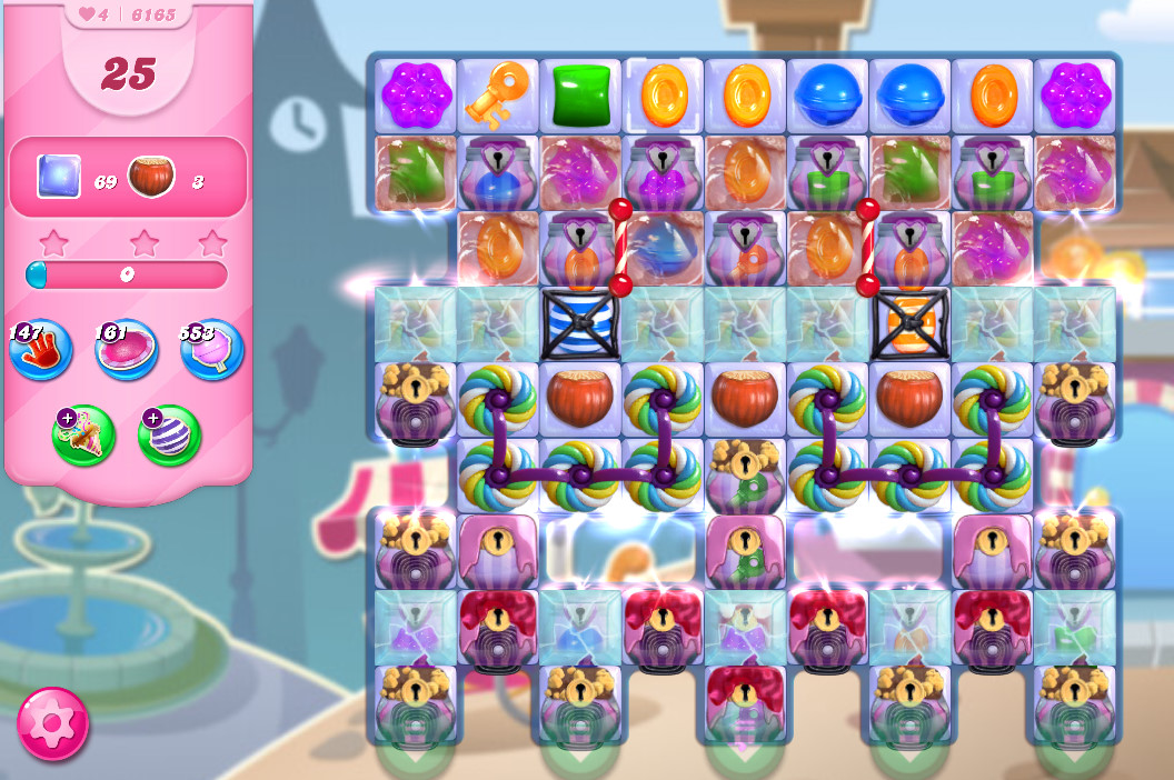 Candy Crush Saga level 6165