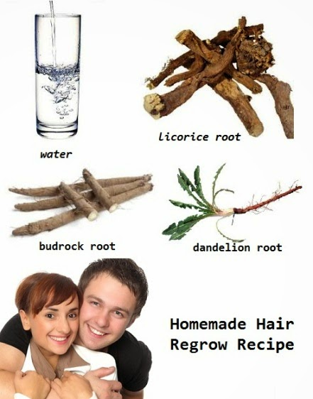 Natural Way to Regrow Hair