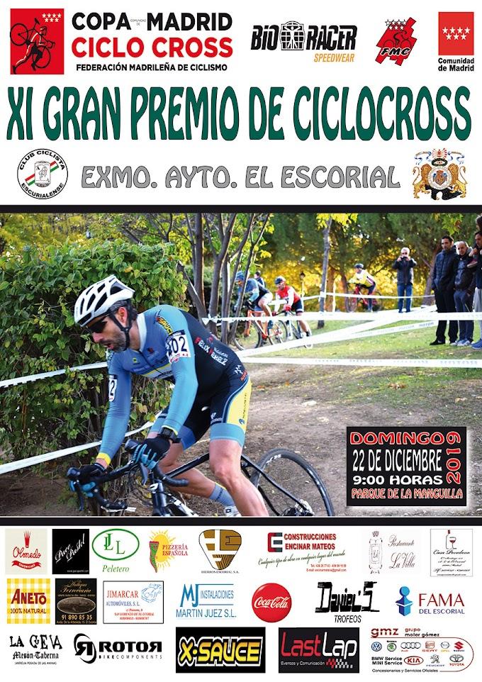 El próximo 22 de diciembre se disputará la XI edición del Ciclocross de El Escorial