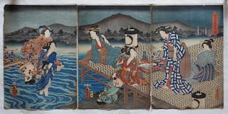 の浮世絵版画販売買取ぎゃらりーおおのです。愛知県名古屋市にある浮世絵専門店。