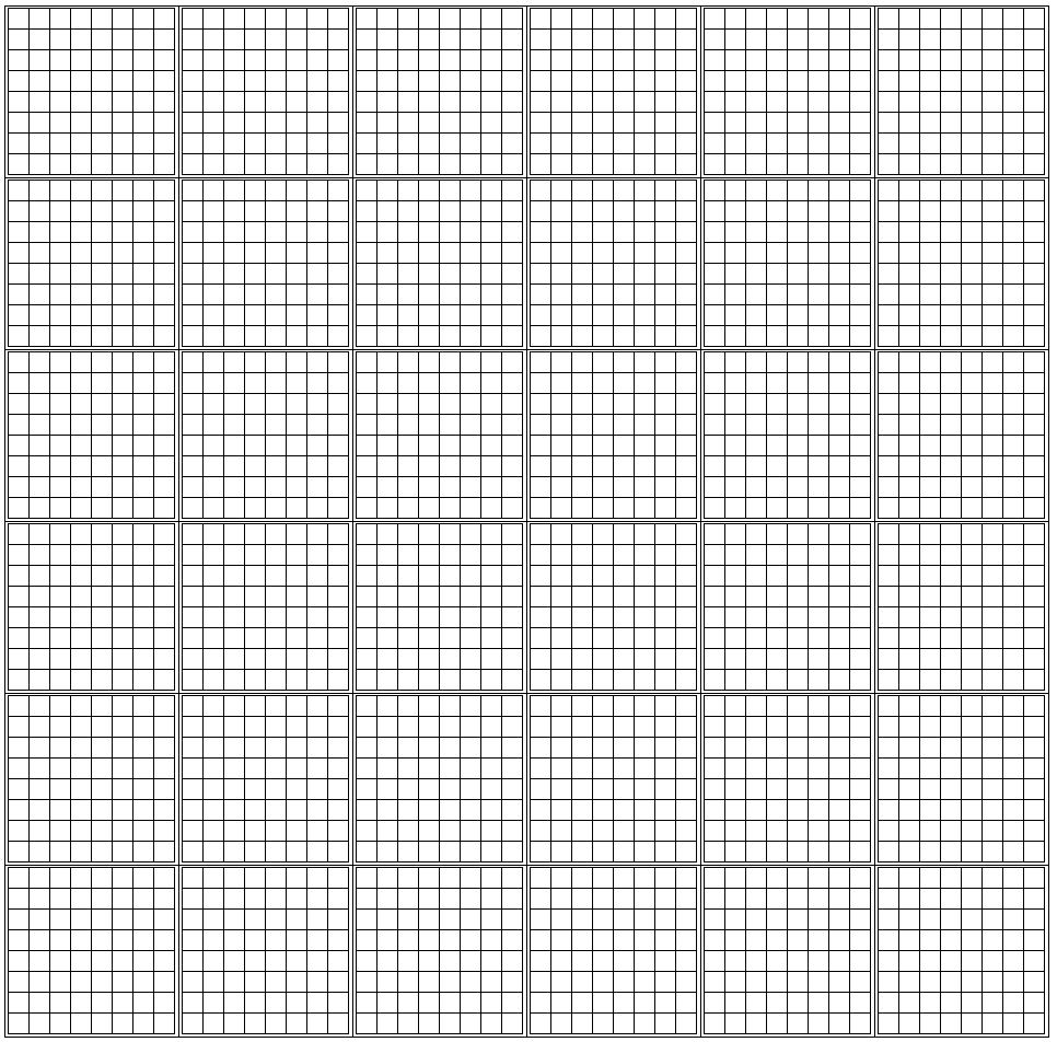 how many squares on standard graph paper