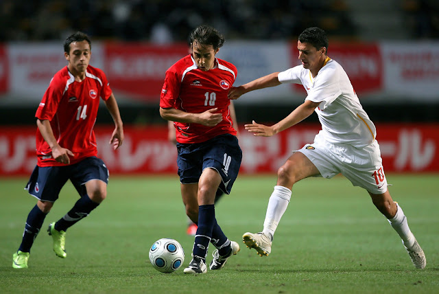Bélgica y Chile en Kirin Cup 2009, 29 de mayo