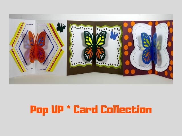Pop Up Card Collection by Minaz Jantz