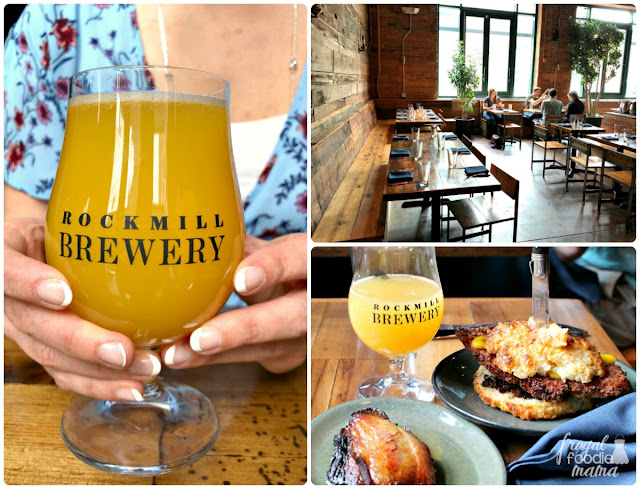 My first brunch & brew combo experience was at Rockmill Tavern in Columbus's Brewery District. The tavern itself is actually an extension of their brewery which is located on a farm in Lancaster, Ohio.