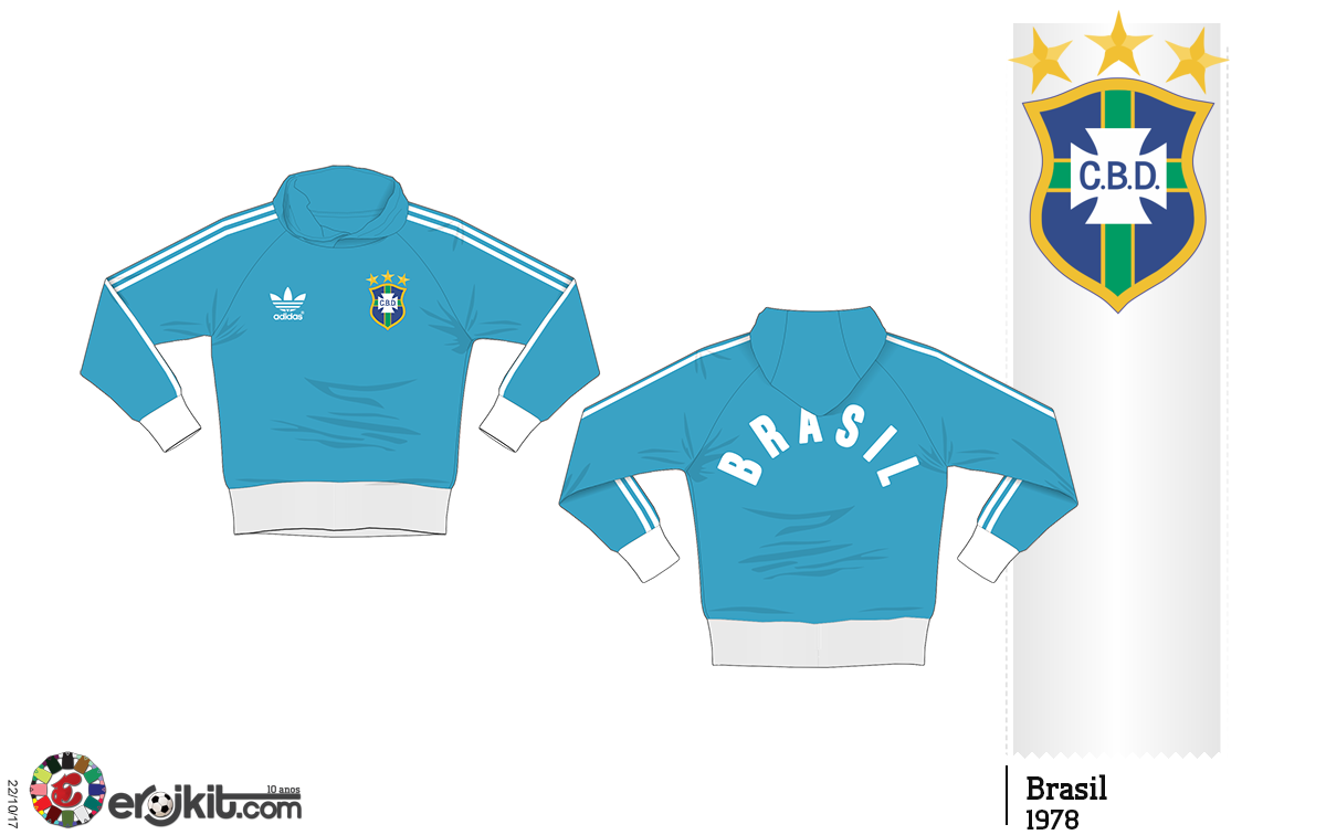5113ab6c5d Jaquetas e Agasalhos da Seleção Brasileira