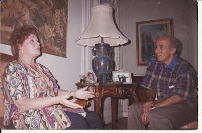 فى الذكرى السادسة والأربعين لانتصارات اكتوبر السيدة / جيهان السادات فى حوار خاص