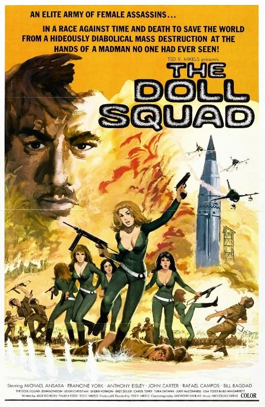 The Doll Squad movie poster