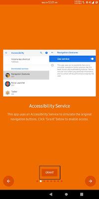 Grant Accessibility Service