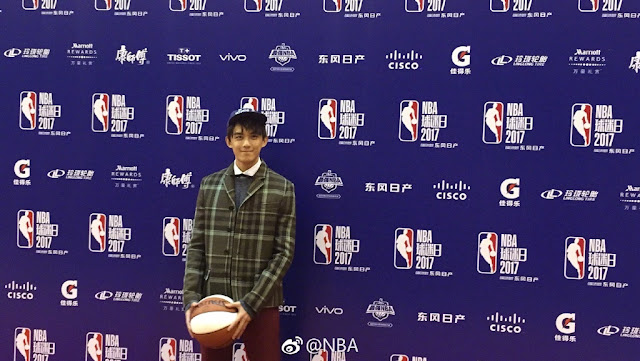 NBA Fan Appreciation Day Wu Lei 2017