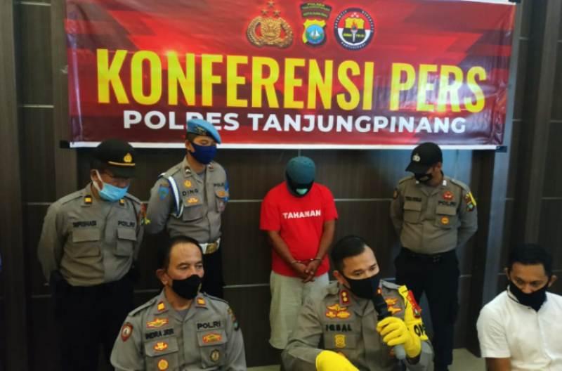 Polres Tanjungpinang Gelar Konferensi Pers Pengungkapan Tindak Pidana Pembunuhan
