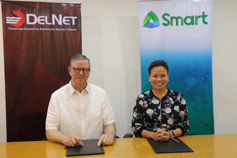 Smart boosts satellite services, disaster preparedness efforts with DelNet