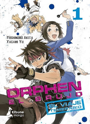 Review del manga Orphen el Brujo: Un viaje Temerario de Yoshinobu Akita y Yagami Yui - Ktisune Manga