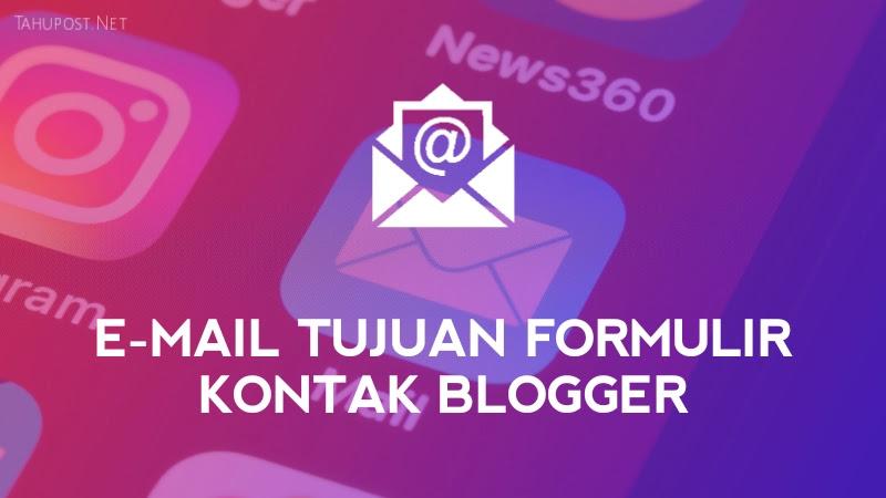 Email Formulir Kontak Blogger