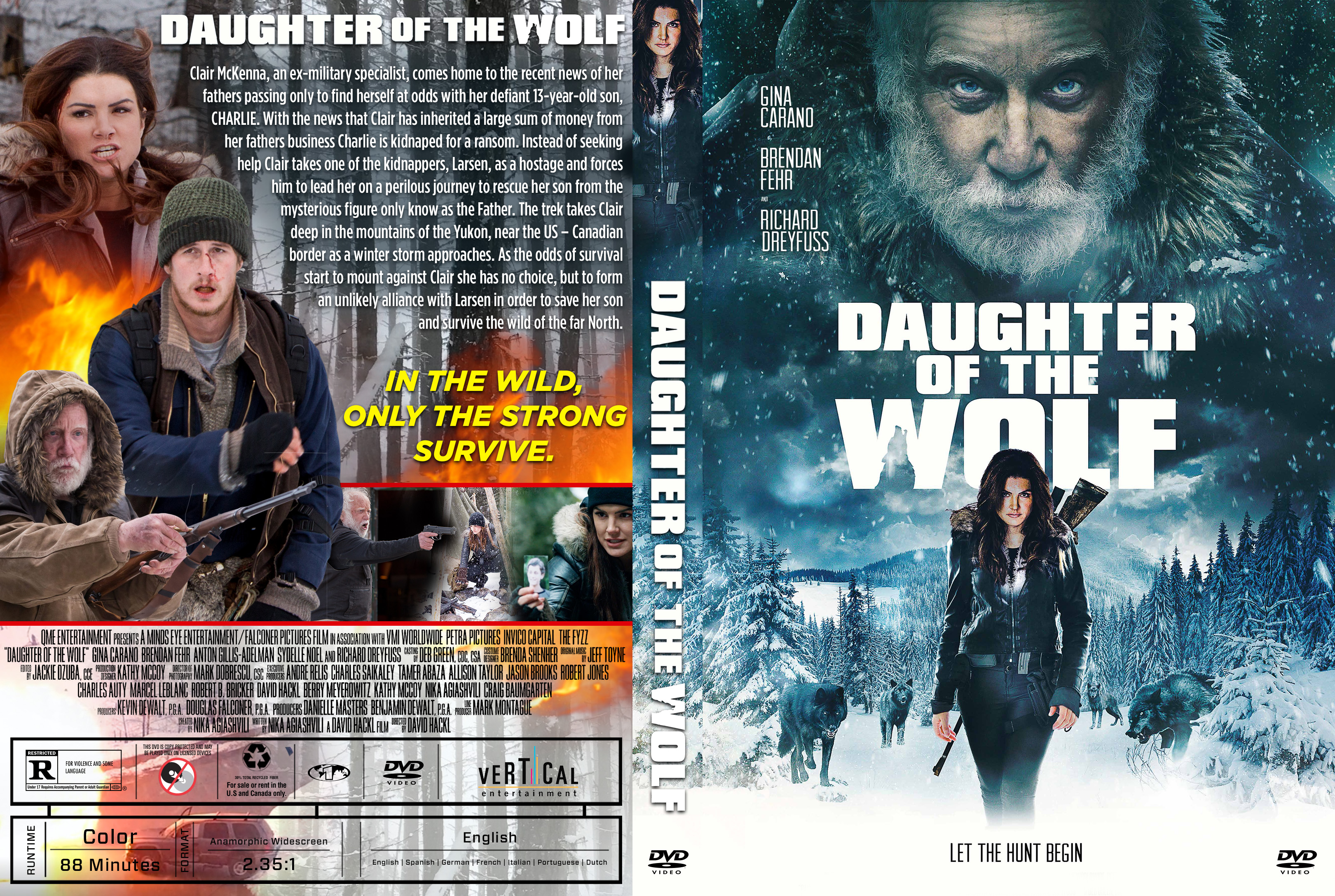Daughter of the Wolf DVD Cover | Cover Addict - Free DVD, Bluray ...