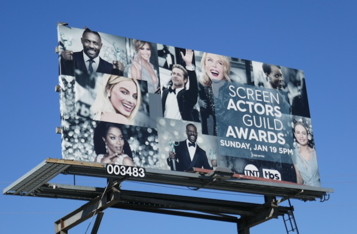 Screen Actors Guild Awards 2020 billboard
