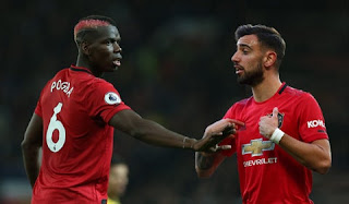 Man United beaten at Old Trafford as Pogba and Fernandes play together for the first time