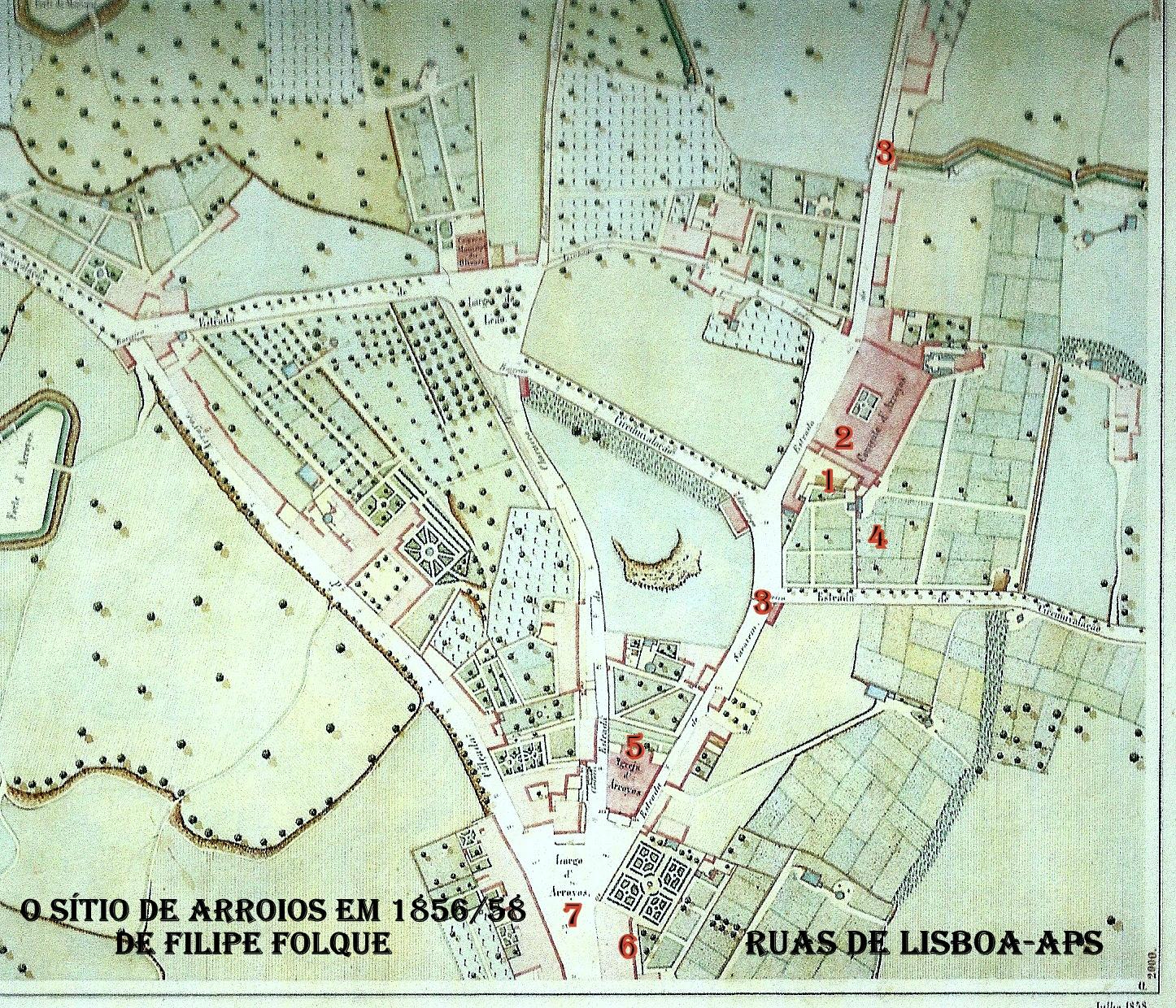 praça do chile lisboa mapa RUAS DE LISBOA ALGUMA HISTÓRIA: PRAÇA DO CHILE [ II ] praça do chile lisboa mapa