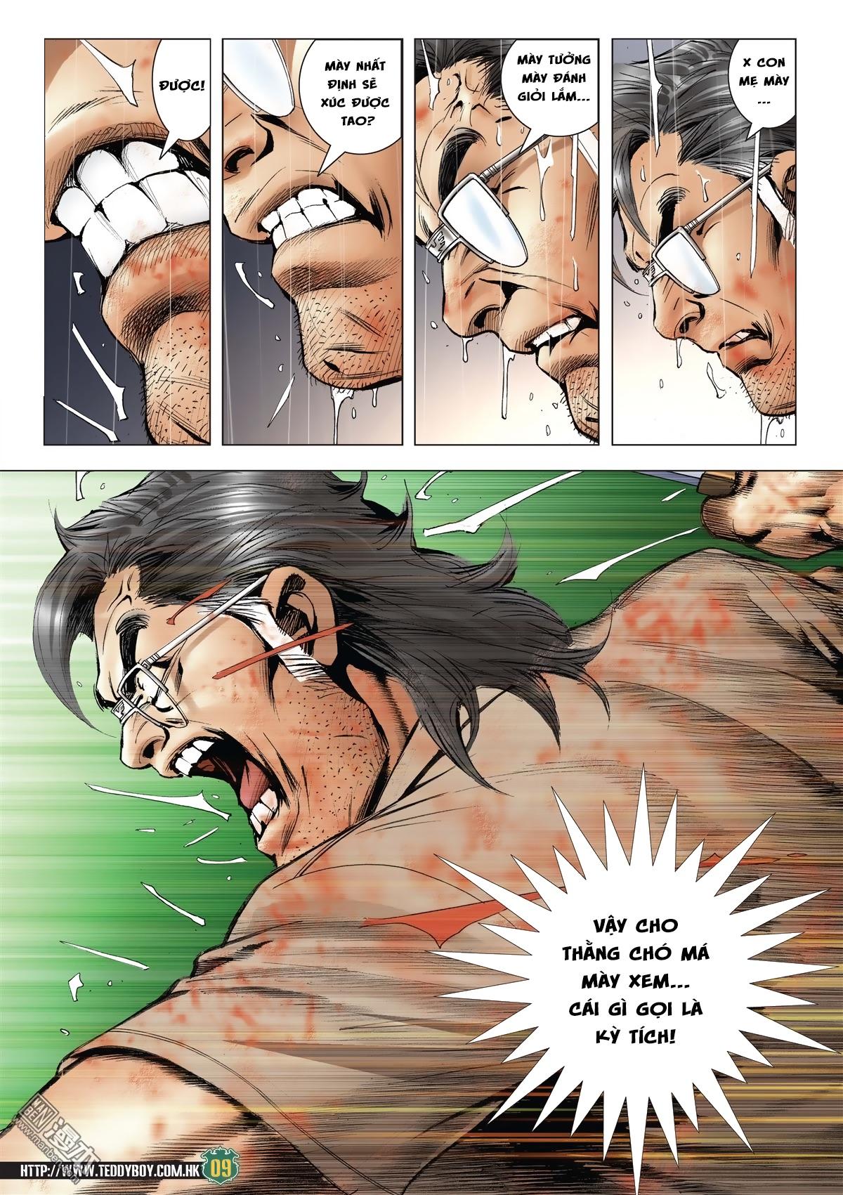 Người Trong Giang Hồ chapter 2033: kim tôn quý vs đại phi trang 6