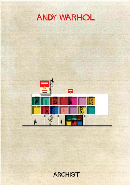 もし有名画家が建築物を作ったら?ゴッホ、ピカソ、ダリの建築? アンディ・ウォーホル