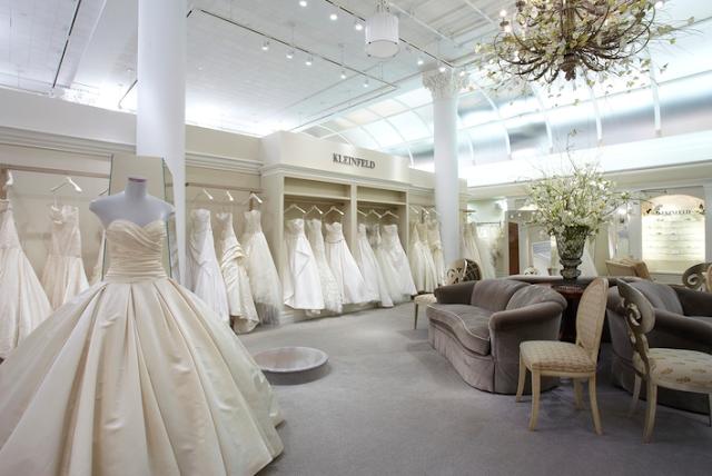 Loja de vestido de noiva Kleinfeld em Nova York