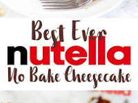 ULTIMATE NO BAKE NUTELLA CHEESECAKE RECIPE