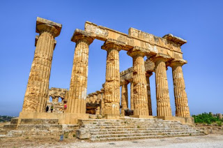 Greek Temple Ruins - Photo by Antonio Sessa on Unsplash