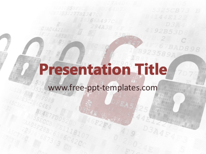Cyber crime ppt template toneelgroepblik Gallery