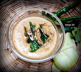 Sorekai sippe chutney