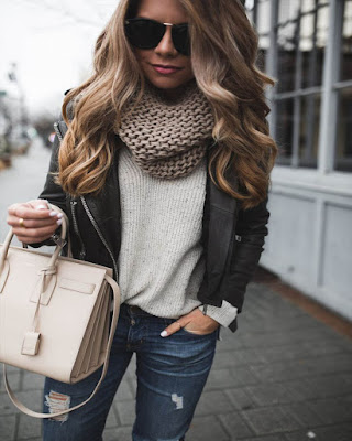 Outfit casual invierno jeans
