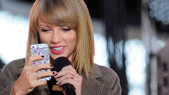 Taylor Swift se prepara para el lanzamiento de un juego para smartphones.