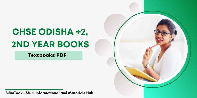 CHSE Odisha Plus Two 2nd Year Arts Textbooks PDF 2021, +2 Books