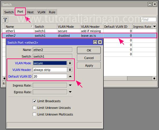 Cara Setting Router Mikrotik Menjadi Switch