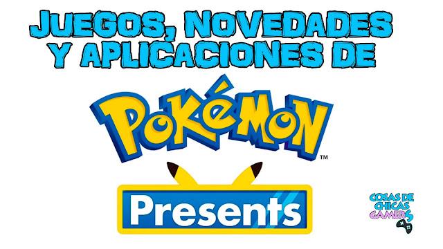 Juegos, novedades y aplicaciones de Pokémon