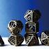 Xinobi Dice - Ninja throwing stars- Cast metal dice for RPGs Kickstarter Spotlight