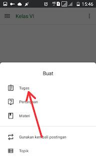 Buat Tugas Google Classroom