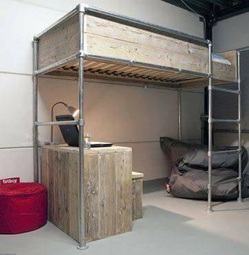 idea deco menarik deko bilik diy katil