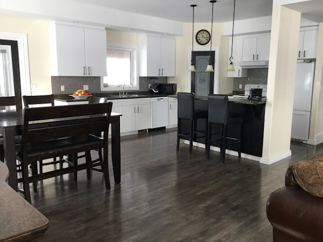 Open Concept Kitchen, Dining